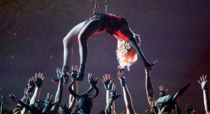 Presentación de Madonna