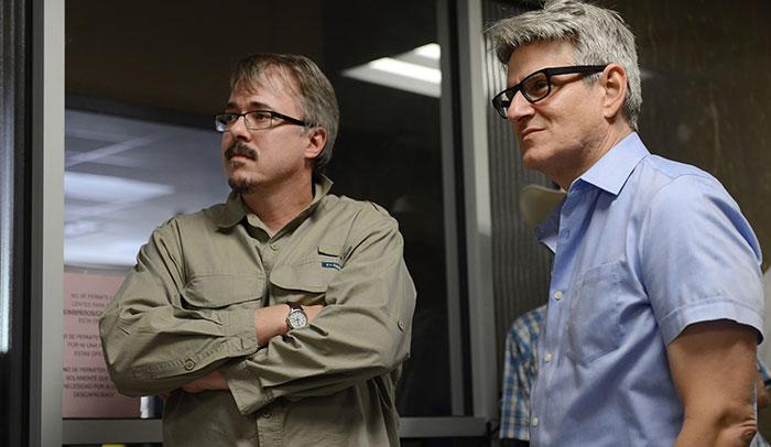 Vince Gilligan y Peter Gould, creadores de la serie