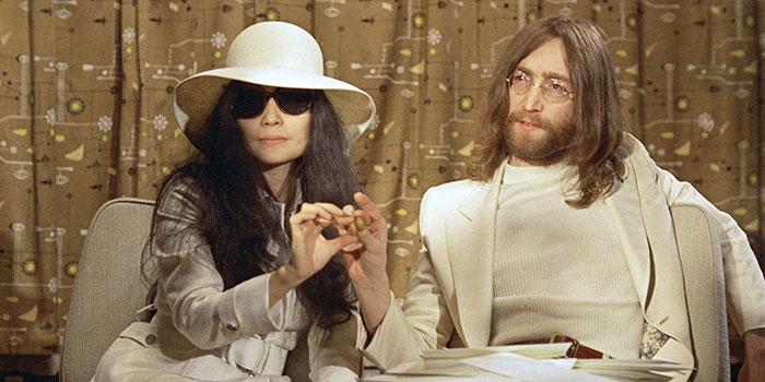 Yoko Ono y John Lenon