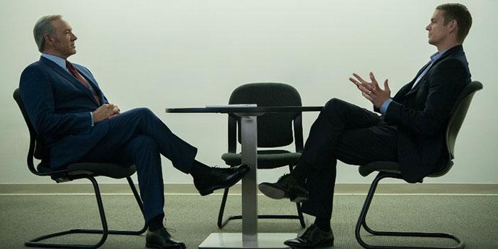 Kevin Spacey y Joel Kinnaman