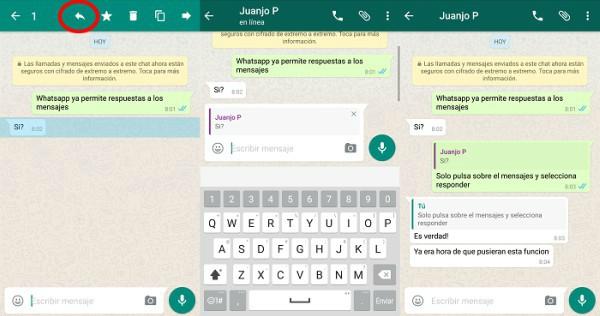 Whatsapp-respuestas