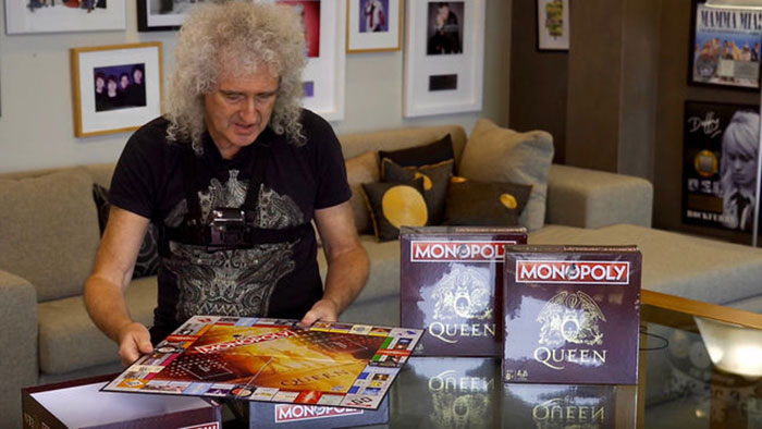 VÍDEO: Brian May presenta el nuevo Monopoly dedicado a Queen