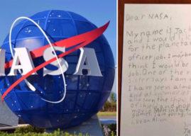 Niño se postula para 'oficial de protección planetaria' y la NASA le responde