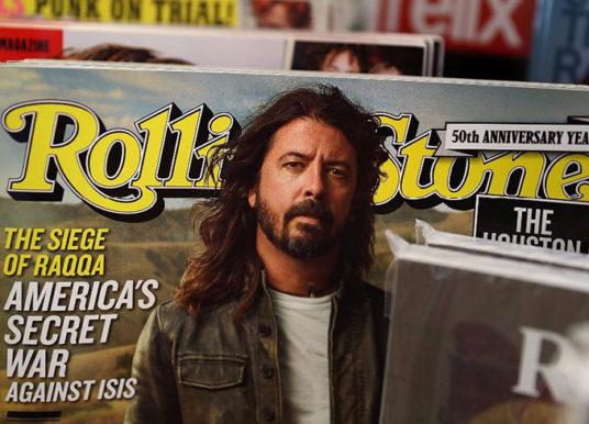 La emblemática revista Rolling Stone está a la venta