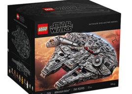 Millenium Falcon de Star Wars, el set más grande en la historia de LEGO