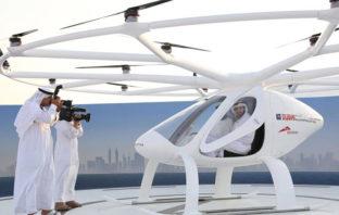 VÍDEO: Prueban primer 'Taxi Drone' sin piloto