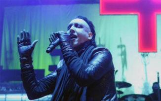 VÍDEO: Marilyn Manson cancela conciertos tras accidente