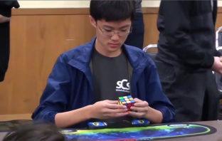 VÍDEO: Logra resolver el cubo de Rubik en solo 4,59 segundos