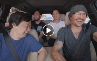 Mira el 'Carpool Karaoke' de Linkin Park junto a Chester Bennington