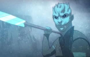 Así se vería el intro de 'Game of Thrones' si fuera un anime