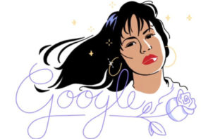 Selena es homenajeada con su primer doodle de Google