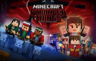 'Stranger Things' llega a 'Minecraft' con sus principales personajes