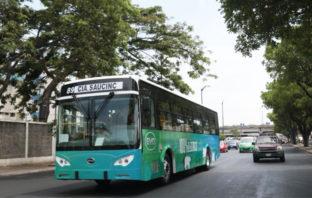 Los buses eléctricos llegan a Guayaquil