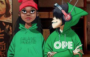 Escucha 'Garage Palace', el nuevo sencillo de Gorillaz