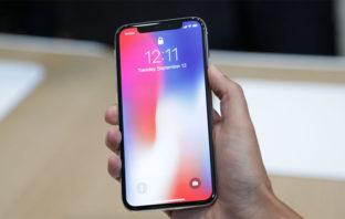 Apple advierte 'desventajas' en la pantalla de su iPhone X
