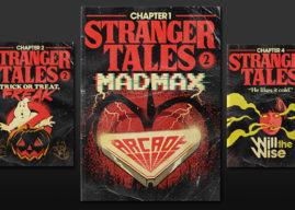 Portadas retro inspiradas en 'Stranger Things 2'