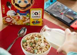 Kellogg's y Nintendo lanzarán un cereal de Super Mario