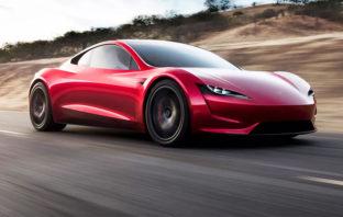 Elon Musk revela el Tesla Roadster, el auto más rápido del mundo