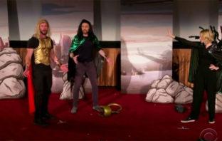 Elenco de 'Thor: Ragnarok' sorprende a fans con una presentación en vivo