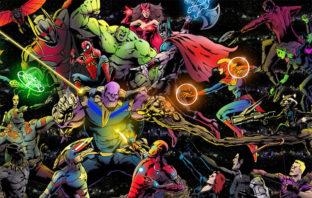Así luciría el tráiler de 'Avengers: Infinity War' en caricaturas de los 90