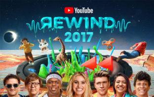 YouTube Rewind: los vídeos más vistos de 2017