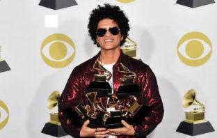 Grammys 2018: Bruno Mars fue el gran ganador de la ceremonia