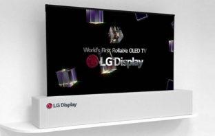 VÍDEO: LG muestra el primer TV enrollable de 65 pulgadas