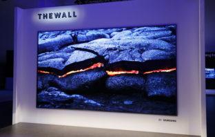 The Wall: El televisor MicroLED modular de 146 pulgadas de Samsung