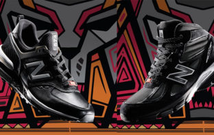New Balance lanza modelo de zapatos inspirados en 'Black Panther'