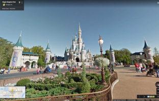 """Los parques de Disney ya se pueden """"recorrer"""" con Google Street View"""