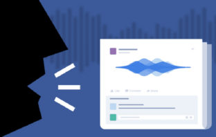 Facebook permitirá postear notas de voz como estado