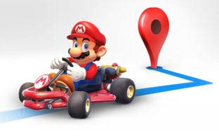 Google Maps se convierte en 'Mario Kart' temporalmente