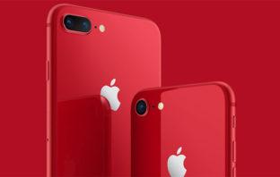 Apple presenta el iPhone 8 Product (RED)