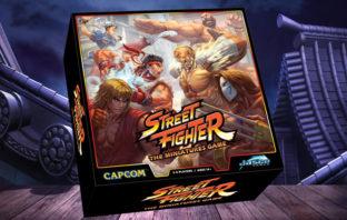 VÍDEO: 'Street Fighter' tendrá su propio juego de mesa