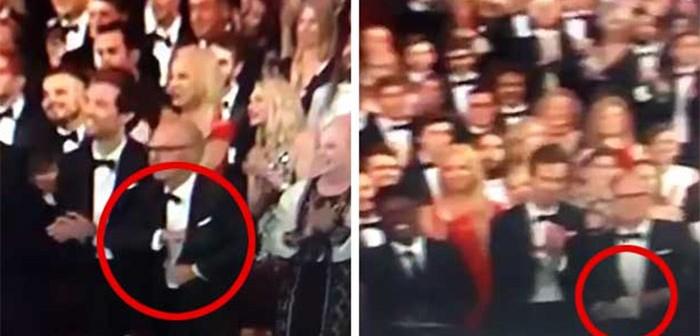 Vine de Michael Keaton escondiendo su discurso al no ganar en los premios Óscar