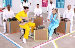 Ariana Grande interpreta 'No Tears Left to Cry' con instrumentos de Nintendo Labo