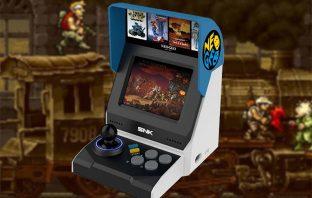 SNK presenta la NeoGeo Mini: una consola retro adaptada a los nuevos tiempos