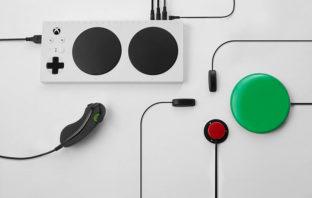 Xbox presenta control para gamers con discapacidad física