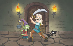 Teaser trailer de 'Disenchantment', la nueva serie del creador de 'Los Simpson'