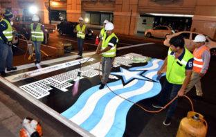 El arte se toma Guayaquil y es plasmado en sus pasos cebra
