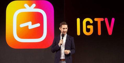 IGTV, la nueva app de Instagram para vídeos de hasta 60 minutos