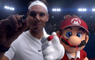 Rafa Nadal ficha por Nintendo y protagoniza el tráiler de 'Mario Tennis Aces'