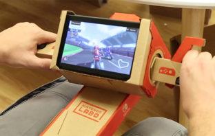 Nintendo Labo ahora es compatible con 'Mario Kart 8 Deluxe'