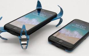 """Un alemán creó la primera funda """"inteligente"""" con airbag para proteger tu celular"""