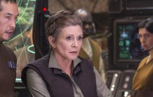 Carrie Fisher aparecerá en el próximo episodio de 'Star Wars'