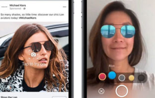Facebook promocionará sus anuncios con realidad aumentada