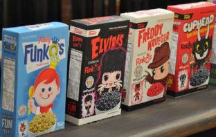 Funko anuncia cereales de Cuphead, Mega Man, Freddy Krueger y más