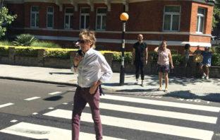 Después de 49 años, Paul McCartney vuelve a cruzar Abbey Road
