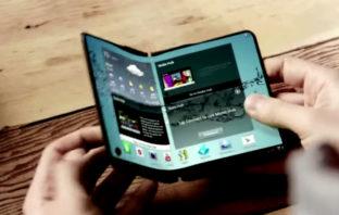 Se filtran imágenes de como sería el primer smartphone plegable de Samsung