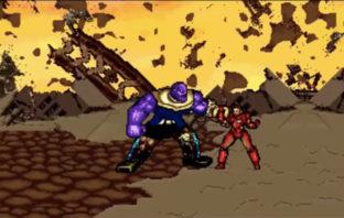 VÍDEO: Recrean épica batalla de 'Avengers: Infinity Wars' en 16-bits